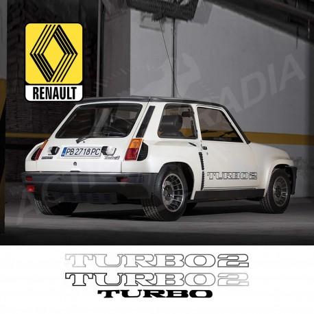 Autocollant adhésif vinyle pour Renault R5 Turbo 2