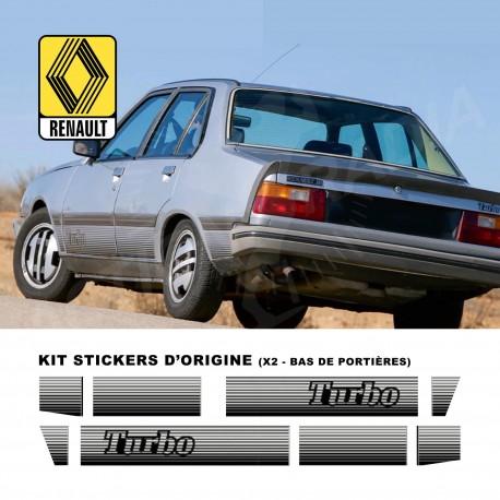 Autocollant adhésif vinyle pour Renault R18 TURBO