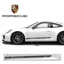 Autocollant adhésif vinyle pour Porsche 911 Carrera T