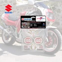 Autocollant vinyle - SUZUKI GSX-R 750 LUCKY STRIKE