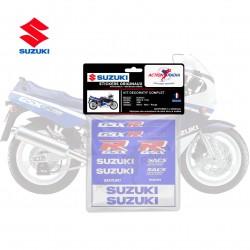 Autocollant vinyle - SUZUKI GSX-R 1100 1991 tricolor